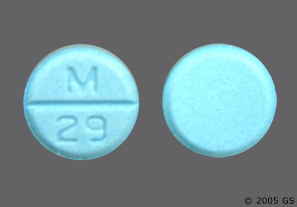 Photo of the drug methyclothiazide (generic name(s): METHYCLOTHIAZIDE).